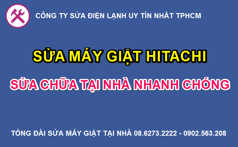 sua may giat hitachi
